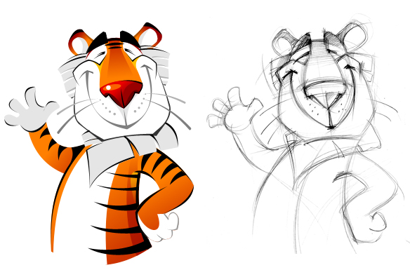 Character for the Vladivostok State Circus website